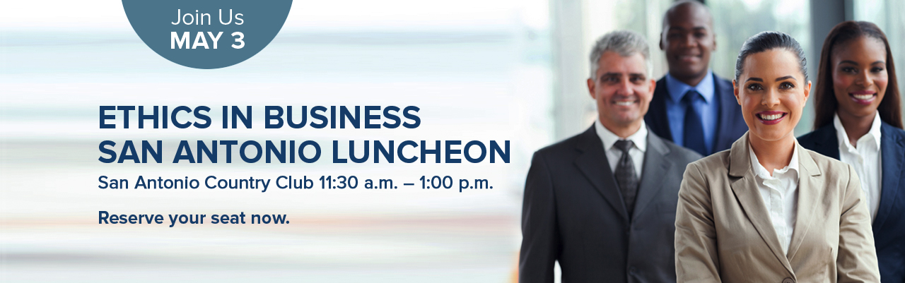 Ethics in Business Luncheon