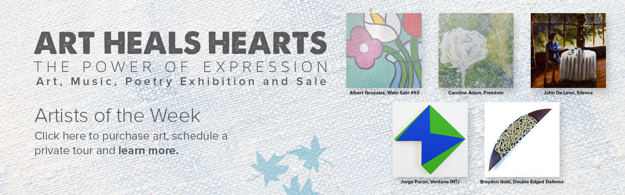 The Ecumenical Center - Art Heals Hearts Art Sale