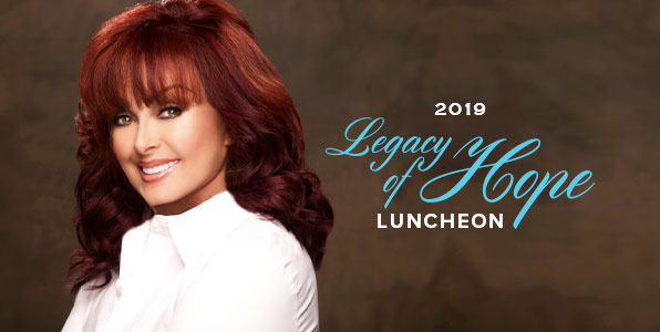 Legacy Of Hope - Naomi Judd small poster