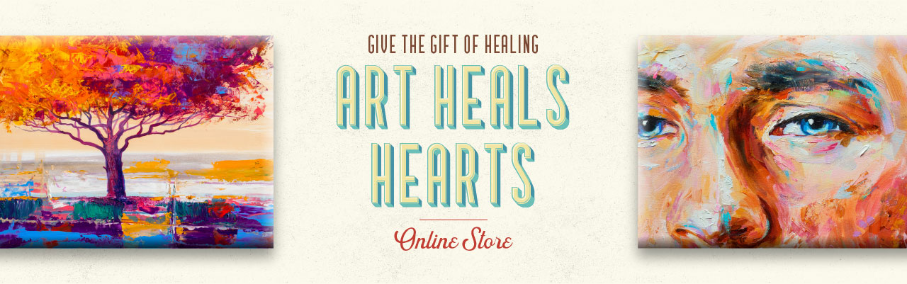 Art Heals Hearts Online Store